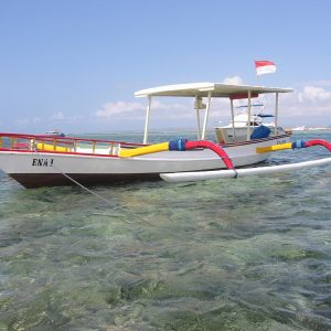 traditional Bali fishing boat