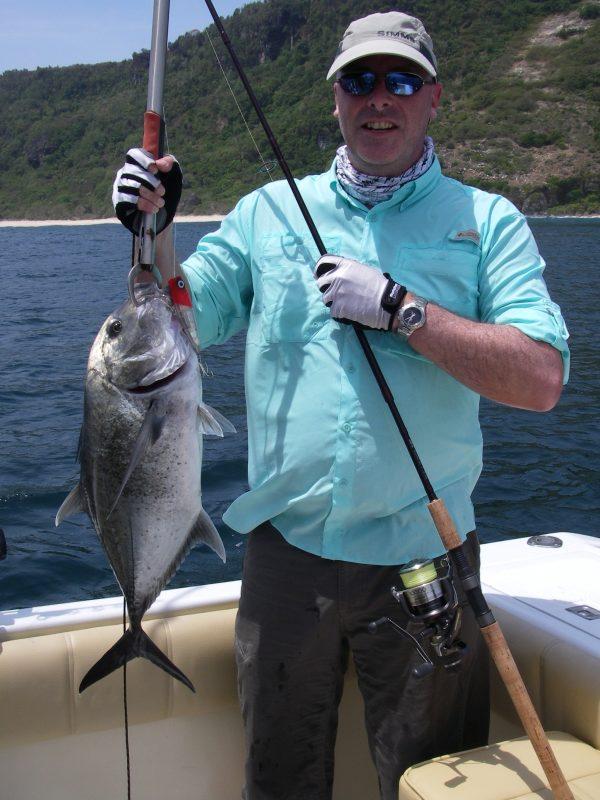Trolling fishing in Bali