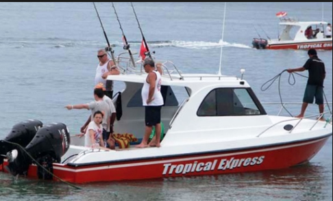 Sanur Bali Fishing Boat