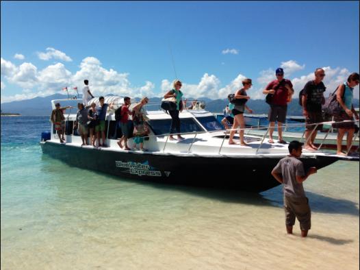 Public Speedboat Bali Gili Lombok